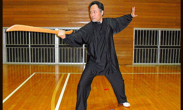 陳氏太極拳単刀の写真
