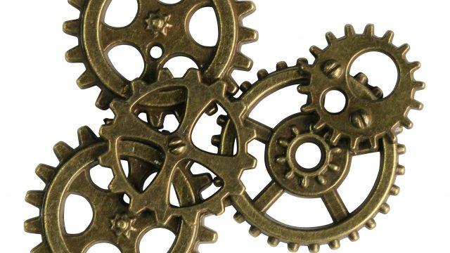 機械の歯車のイラスト
