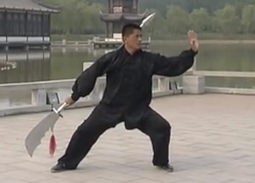陳式太極拳 春秋大刀の写真