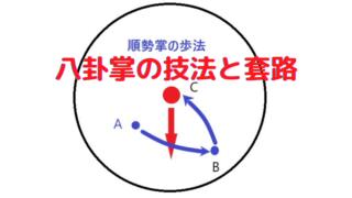 八卦掌の技法と套路のタイトルロゴ