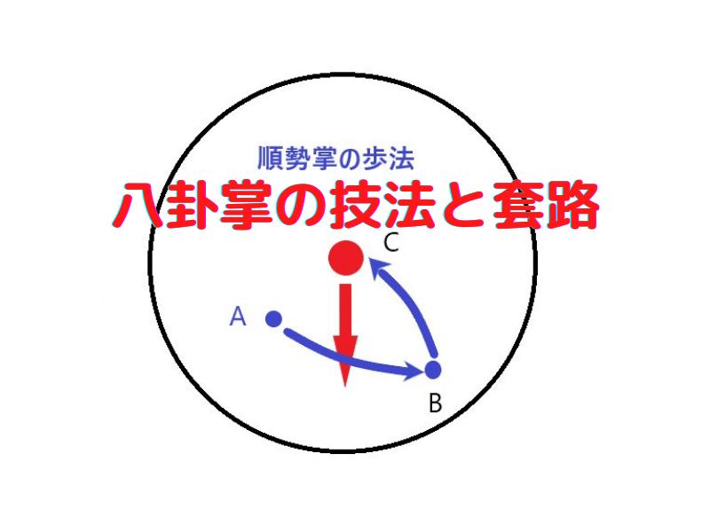 八卦掌の技法と套路の成り立ちのロゴ画像
